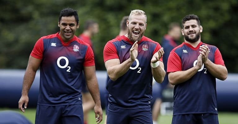 Pic: Christian Wade Gave James Haskell A Brilliant Present After Lions Selection