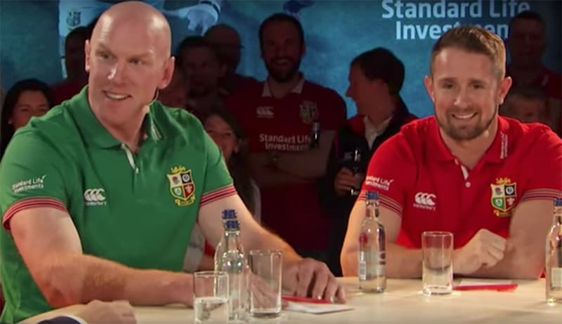 Watch: Paul O'Connell Brilliantly Roasts Shane Williams On Hilarious Lions Debate