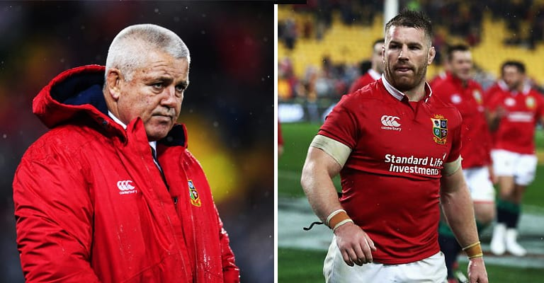 Warren Gatland Finally Respond's To Sean O'Brien's Criticism Of Him & Lions Coaching Staff