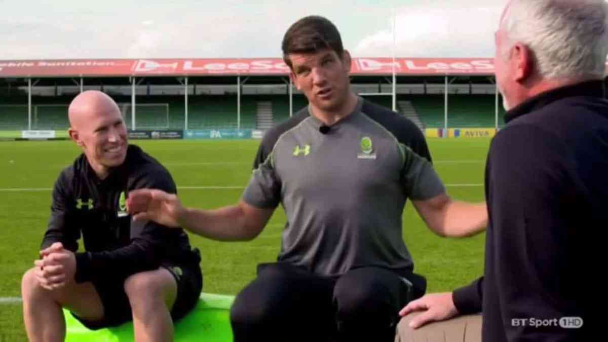 Donncha O'Callaghan Tells Hilarious Story Involving Ducks & A Munster Team Meeting