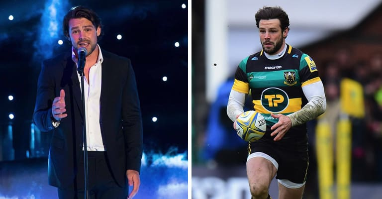 Watch: Who Saw Ben Foden Showing Off His Incredible Singing Skills Last Night?