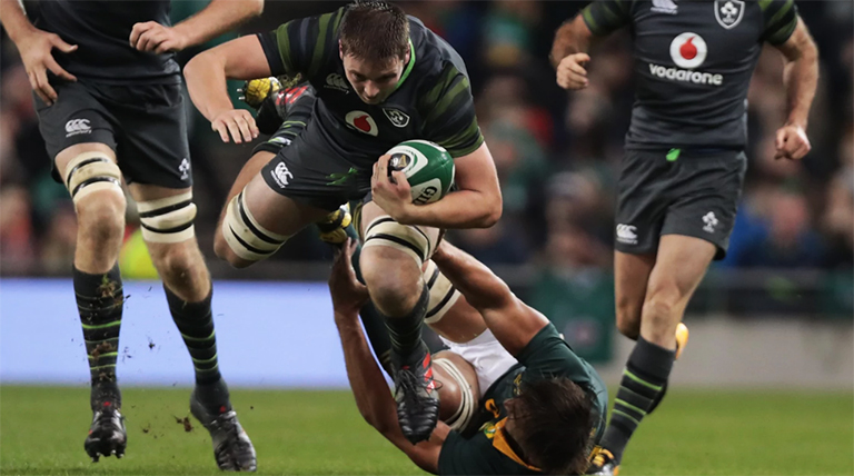 Watch: Let's All Take A Moment To Watch Iain Henderson Bulldoze Eben Etzebeth Again