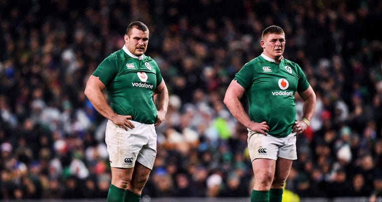 Ireland reshuffle pack for Italy clash