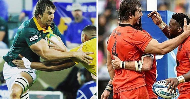 Eben Etzebeth's Absolutely Freakish Gym & Speed Stats Are Just Plain Scary