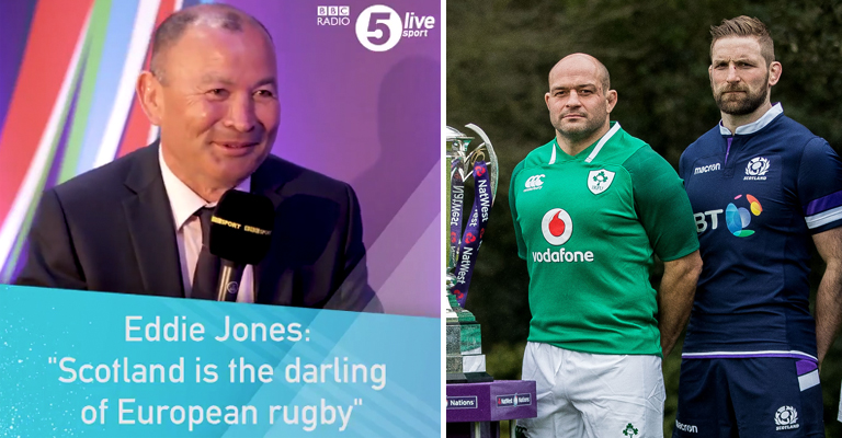 Joe Schmidt hits back after Eddie Jones taunts