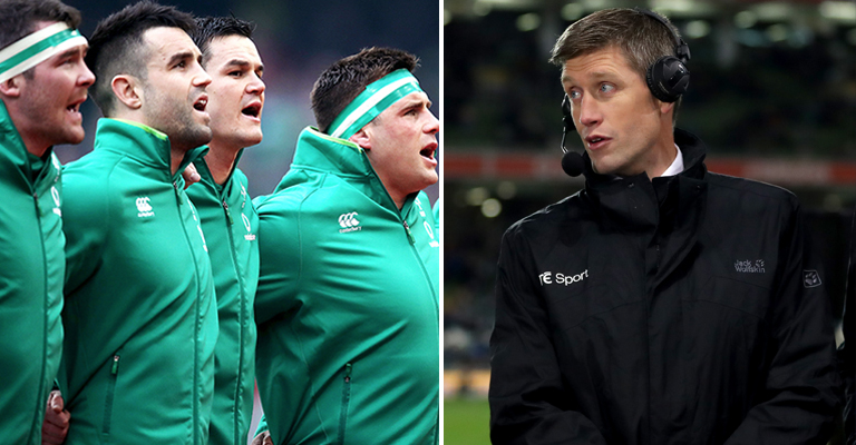 Joe Schmidt Comments On England's Controversial Use Of Match Official