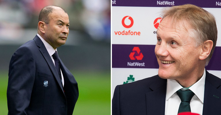 Eddie Jones 'very sorry' after vowing revenge on 'scummy Irish'