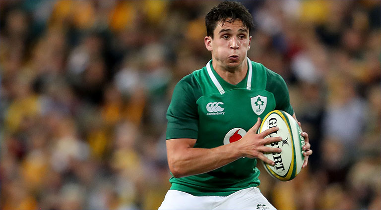 Joey Carbery Starts As Ireland Name Team For Italy