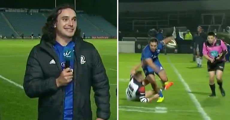 WATCH: Leinster's James Lowe Ran Absolute Riot Against Edinburgh Last Night