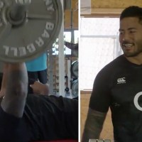 WATCH: Manu Tuilagi Casually Reveals His Monstrous Gym Routine