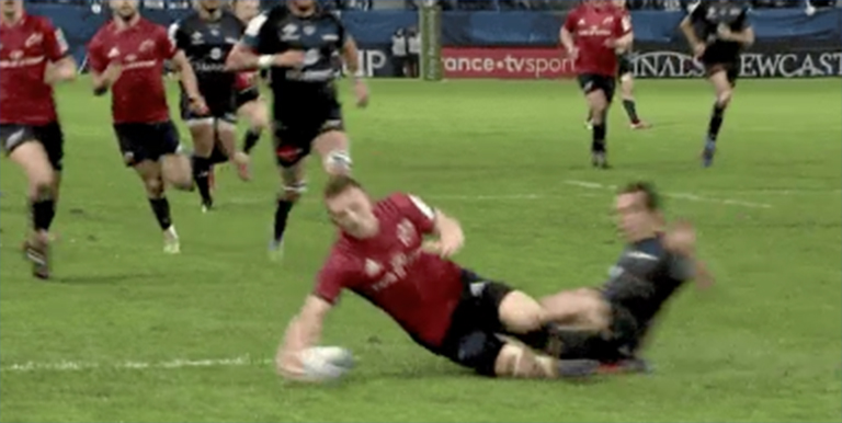 WATCH: Should Munster Have Had A Penalty Try Here?
