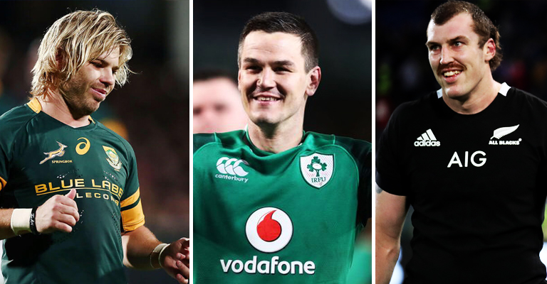 Eight Irish Players Make The Only World Team Of The Year That Matters
