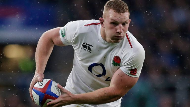 England flanker Underhill ruled out of Six Nations