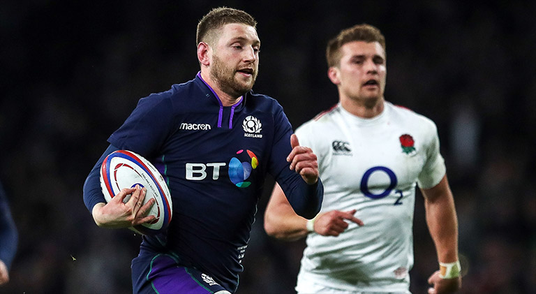 Finn Russell Argument With Gregor Townsend Sparked Scotland's Comeback Against England