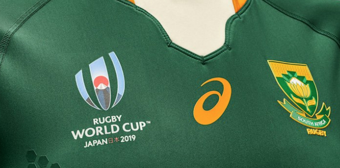 South Africa's Rugby World Cup Jerseys Are A Thing Of Beauty