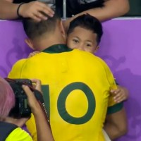 Cancer Survivor Christian Lealiifano Shares Incredible Moment With His Son Following World Cup Exit