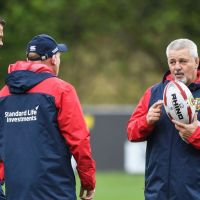 Warren Gatland Reveals He's Held Talks With Provincial Coach About Lions Role
