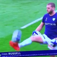 WATCH: Everyone Is Talking About Finn Russell's Incredible Warm-Up Routine