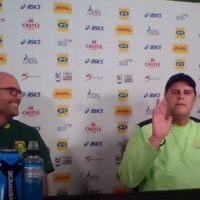 """""""I'm Not Jaco Johan, I'm Johan Erasmus"""" – Rassie Steals The Show With Hilarious Press Conference"""
