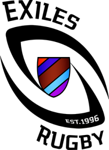 Image of the Logo of the Exiles Rugby Club