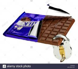 a-large-bar-of-dairy-milk-chocolate-half-unwrapped-with-a-padlock-DYENCM