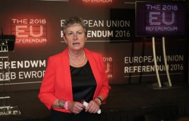 """File photo dated 24/06/16 of Gisela Stuart, one of Labour's leading Brexit supporters, who has accused the party of making itself """"irrelevant""""."""