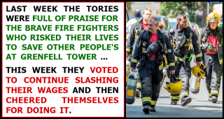 Fire Fighters Wages Tory austerity