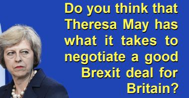 Theresa May Brexit deal britain