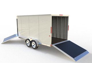 Custom Enclosed Trailers