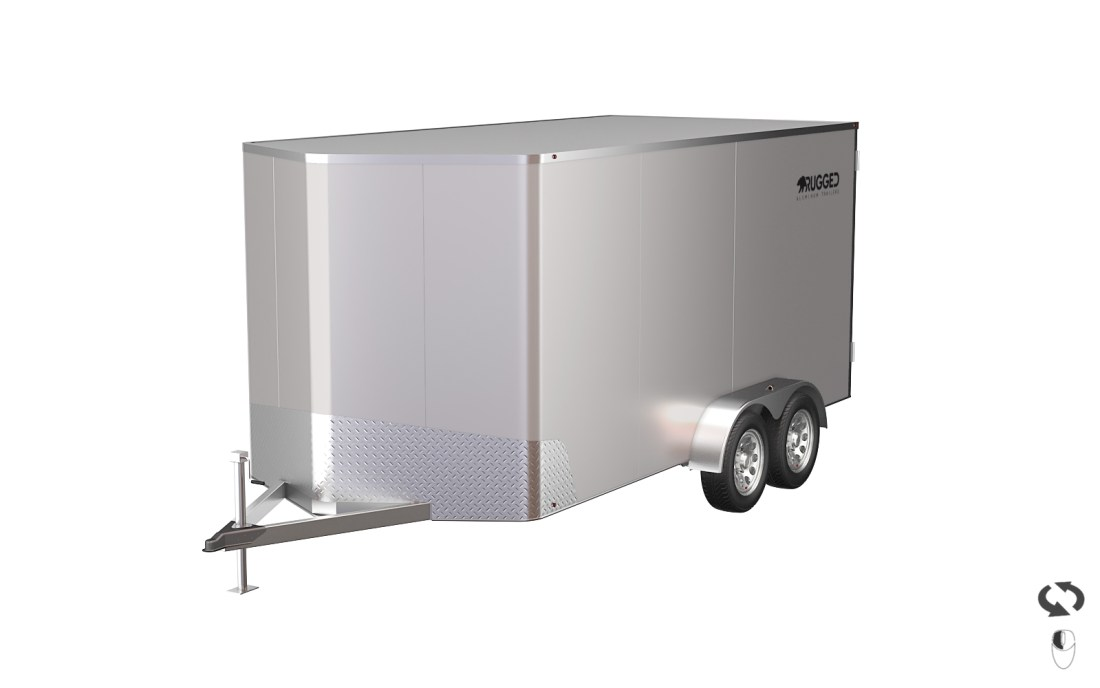 Custom Enclosed Aluminum Trailer