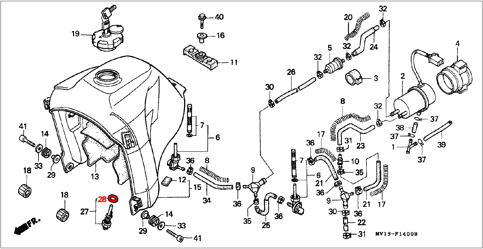 Oem Honda Fuel Reserve Sender O Ring