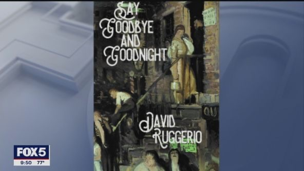 David Ruggerio promotes Say Goodbye and Goodnight