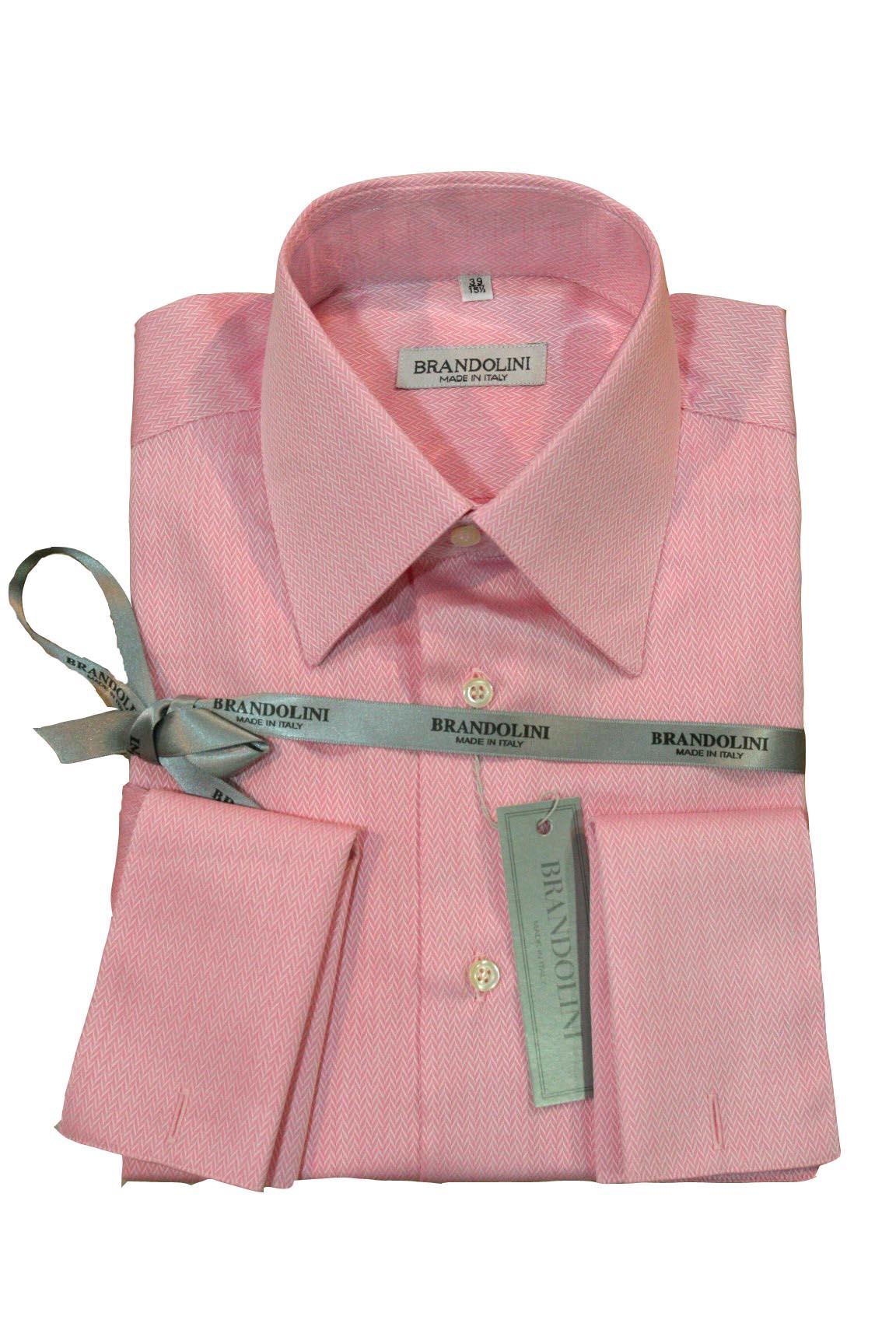 Pink Brandolini Shirt | Ruggi's Fine Italian Clothing