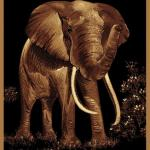 UW 910-04650 Elephant by Legends Collection