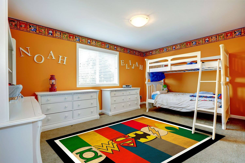 Home Furniture Diy Super Area Rugs Custom Avengers