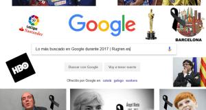 más buscado en Google durante 2017
