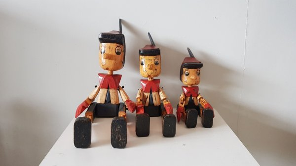 GN 21 Pinocchio Decoration Wood