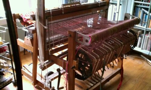 Image result for rag rug loom images