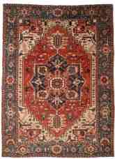 Antique Persian Serapi 12 X 15 Rug 14070