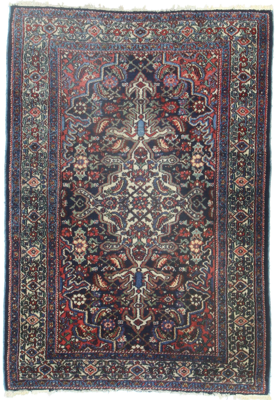 Antique Persian Hamadan Rug 14397