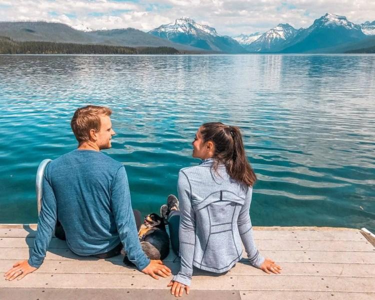 glacier national park in spring, glacier national park in the spring, best time to visit glacier national park,