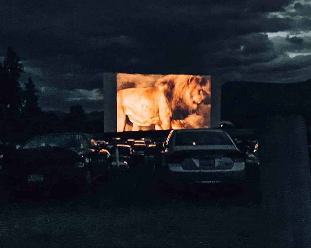 Starlight Drive in Movie Theater! One of the best things to do in the Okanagan Valley British Columbia Canada. Stop for a movie night while visiting Kelowna Canada.