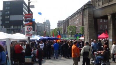 "1. Mai 2014, Rathausplatz ""Willy-Brandt-Platz"" Bochum"