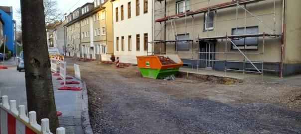 Baustelle Parkstraße, Wattenscheid