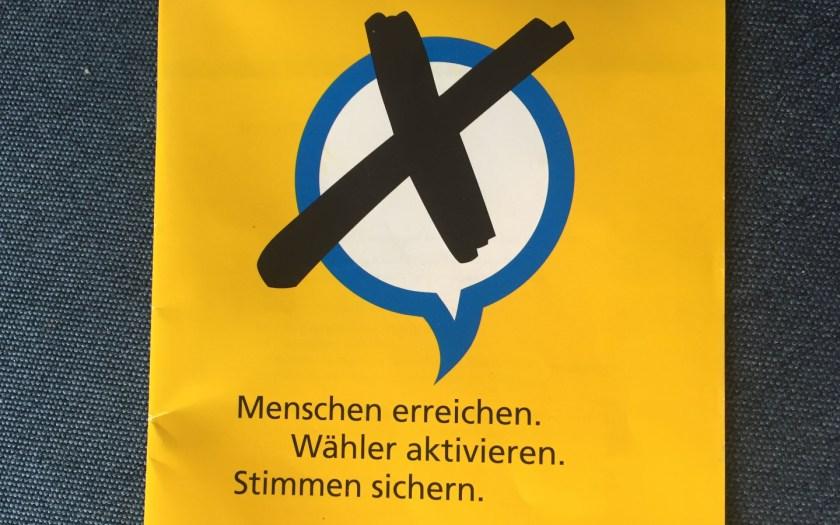 Deutsche Post - Leitfaden für Wahlkämpfer