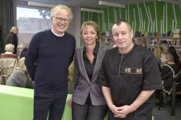 Was so toll begann ist nun Geschichte, Dirk Glaser, Elke Czech, Claus J. Barteczko von der Initiative 4344 e.V. (Foto: Holger Grosz)