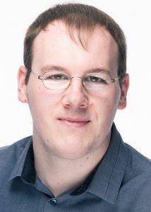 Chris J. Demmer, Kreistagsmitglied der Piratenpartei und Sprecher des Deutschen Hanfverbandes (Foto: Alexander Spanke)