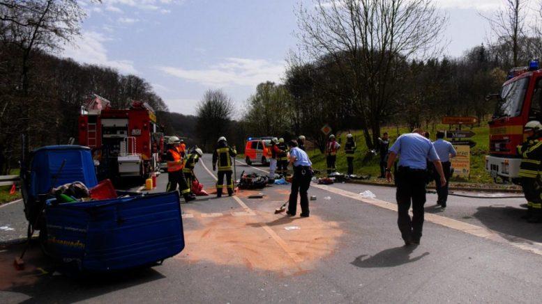 Verkehrsunfall Wodantalstraße5