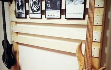 ベース ギターハンガー 壁掛け ディアウォール