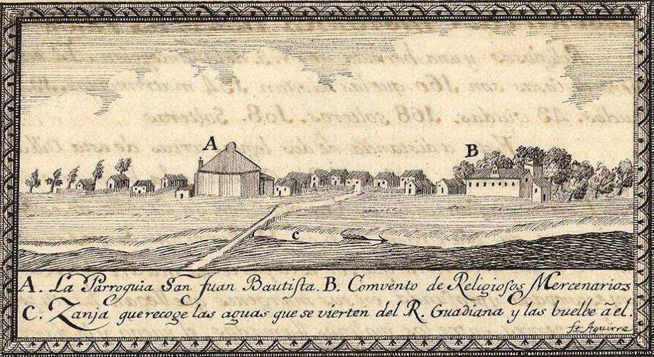 El Caz del Guadiana en 1769 - Ruidera treasures